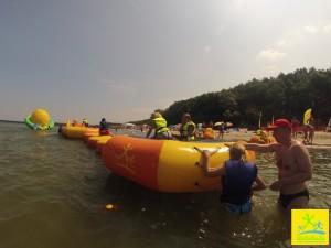 Waterlandia - Plac zabaw na wodzie w Ustroniu Morskim